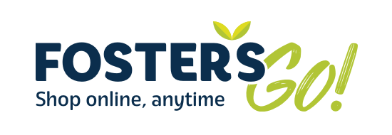 A theme logo of Foster's Supermarket